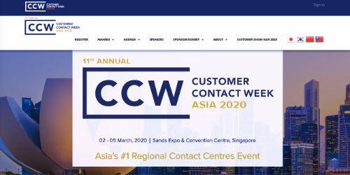 Customer Contact Week Asia