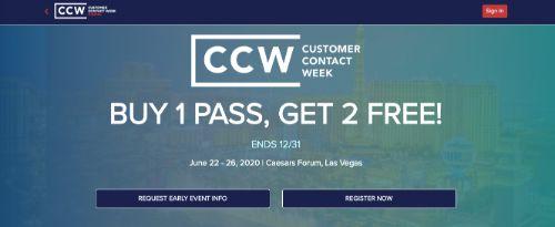Customer Contact Week (CCW) Las Vegas