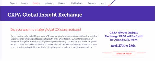 CXPA Global Insight Exchange