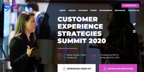 Customer Experience Strategies Summit (CXS)