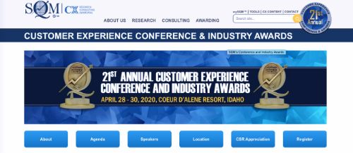 21st Annual Customer Experience Conference and Industry Awards
