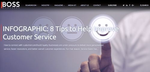 8 Tips to Help Improve Customer Service (INFOGRAPHIC)