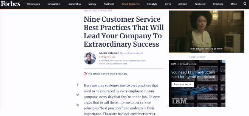 Nine Customer Service Best Practices That Will Lead Your Company To Extraordinary Success