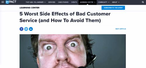 5 Worst Side Effects of Bad Customer Service (and How To Avoid Them)