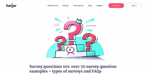 Survey questions 101: over 70 survey question examples + types of surveys and FAQs