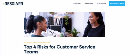 Top 4 Risks for Customer Service Teams