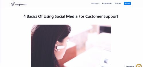 4 Basics Of Using Social Media For Customer Support