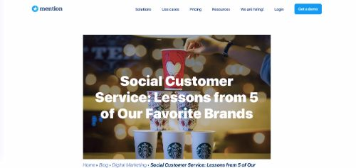 Social Customer Service: Lessons from 5 of Our Favorite Brands