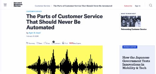 The Parts of Customer Service That Should Never Be Automated