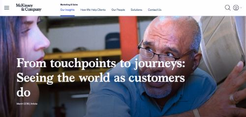 From touchpoints to journeys: Seeing the world as customers do