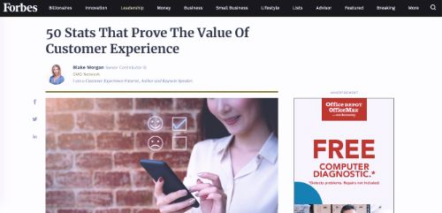 50 Stats That Prove The Value Of Customer Experience