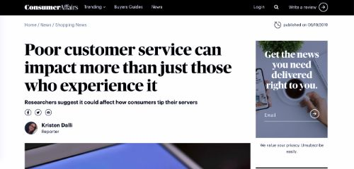 Poor customer service can impact more than just those who experience it