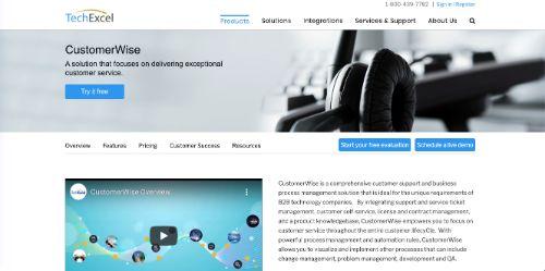 TechExcel CustomerWise